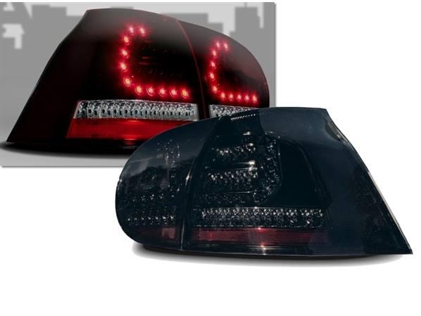 VW Golf 5 Farolins LED Fumado