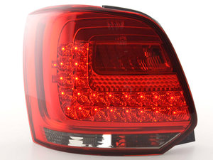 VW Polo 6R 2009+ Farolins LED