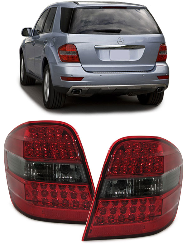 Mercedes ML W164 farolins led