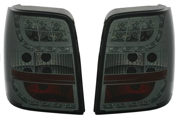 VW Passat 3B Carrinha 96-2000 Farolins Fumados LED