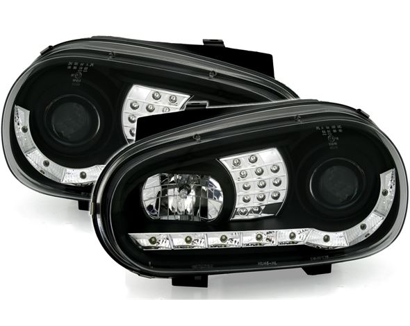 VW Golf 4 Farois Dayline 1 pisca Led