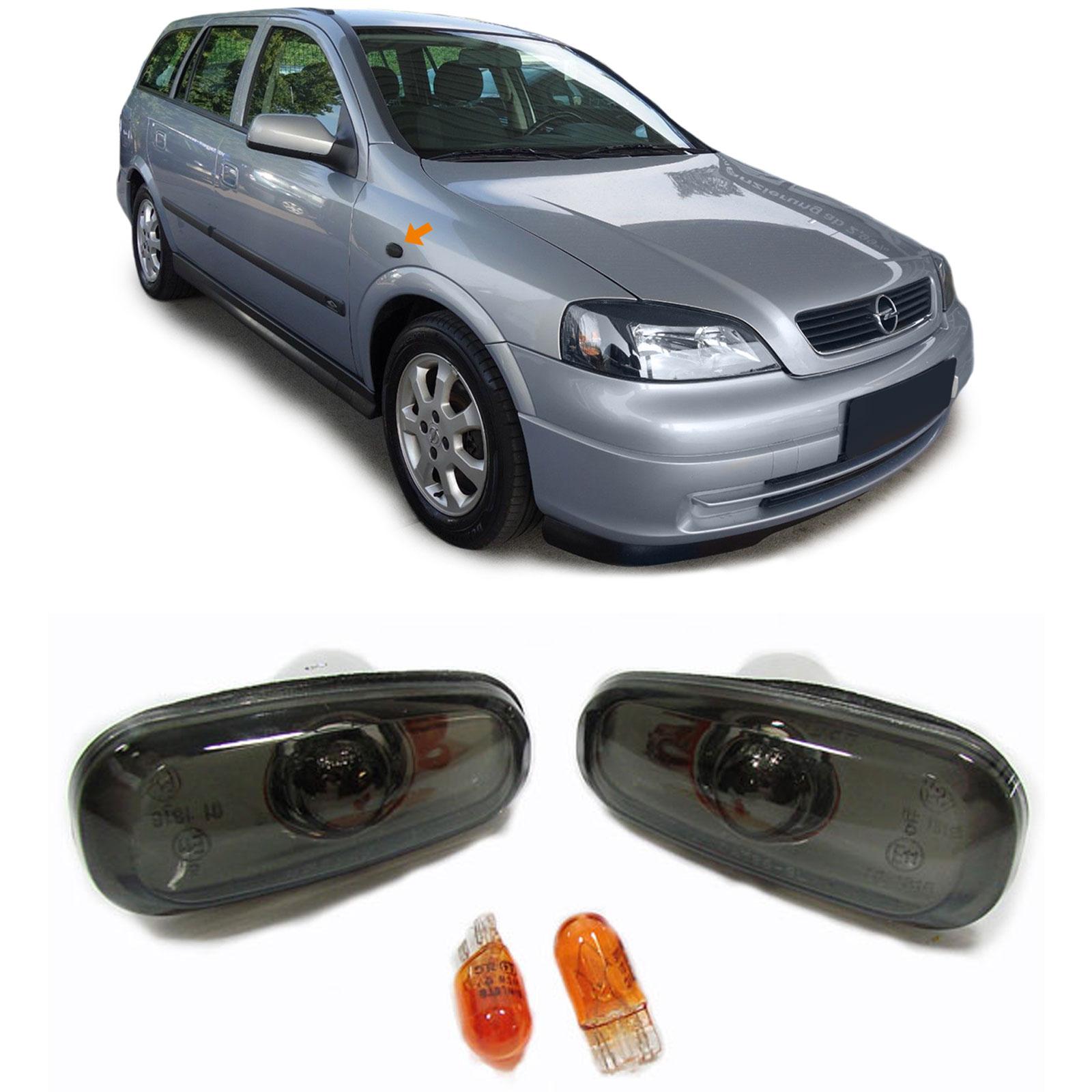 Piscas Laterais Opel Astra G Fumado