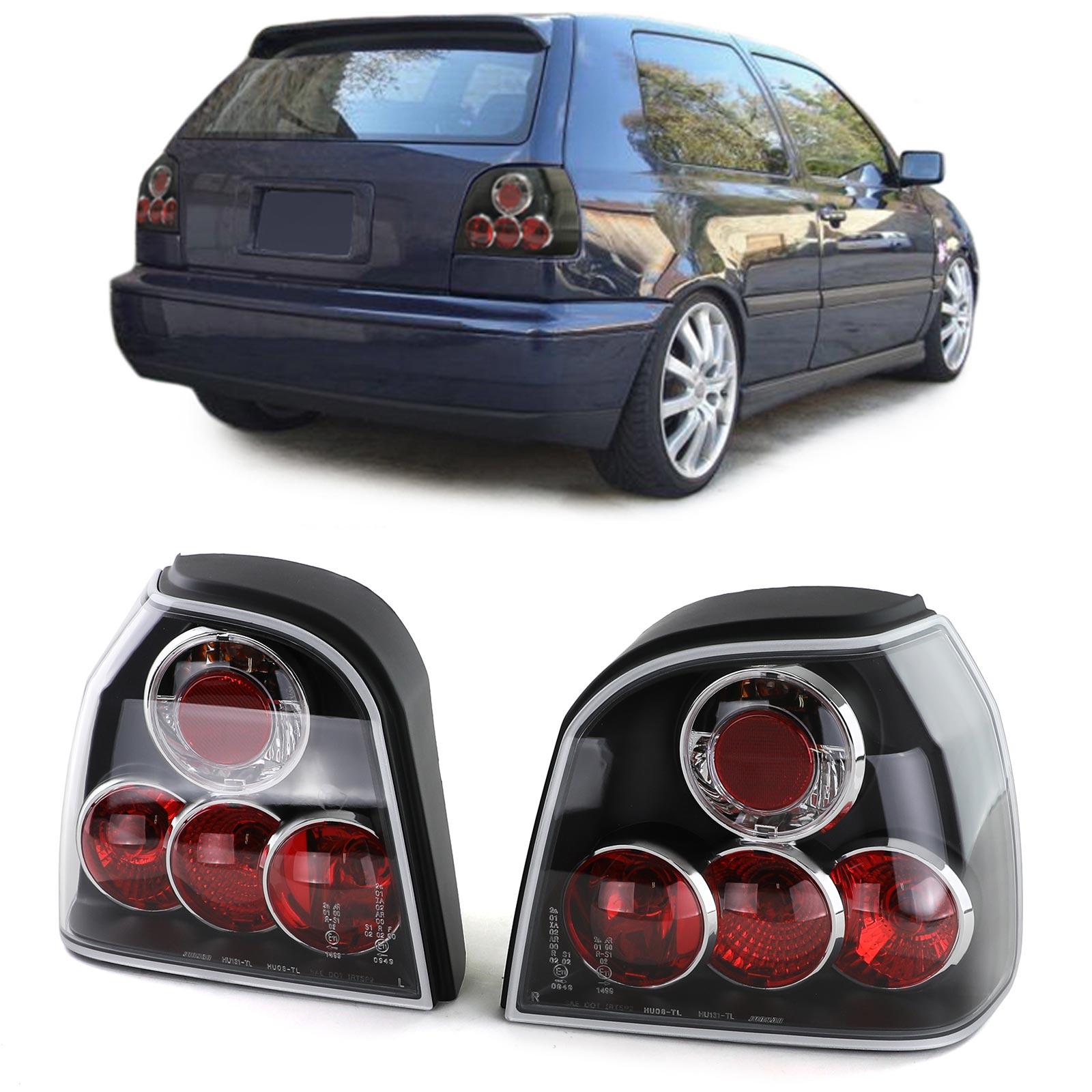 VW Golf 3 Farolins lexus preto