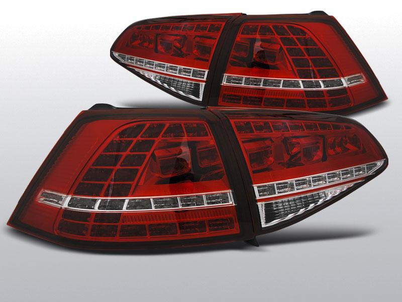 VW Golf 7 Farolins LED fumado Look GTI