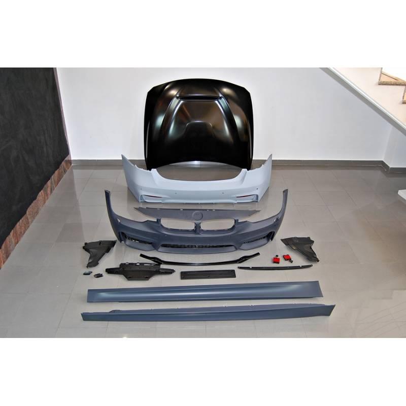Kit De Carrocería BMW F30 12-14 Look M3 com capot
