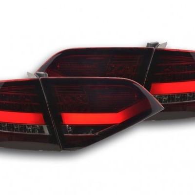 Audi A4 B8 2007-2001 Farolins LED bar vermelho - fumado