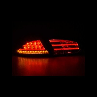 Seat Leon 09-12 Farolins LED Fumado Cristal