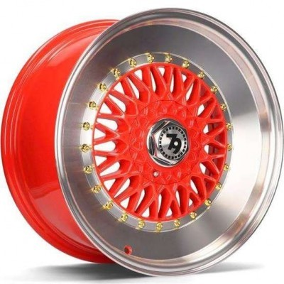 "17"" 5X112 / 5X120 SEVENTY9 SV-F RED LP"