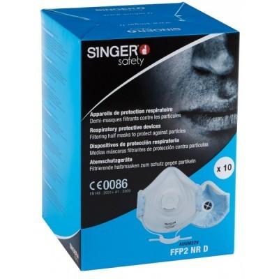 Máscara com válvula  FFP2 NR D. AUUM22V Singer