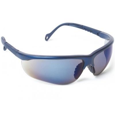Óculos de sol azul espelhado EVASHARKBBA Singer