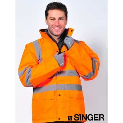 Casaco e colete de alta visibilidade (2x1) VIENA/VIENO Singer