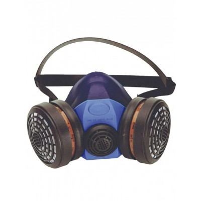 Respirador semi-facial com 2 filtros DM756S  Singer