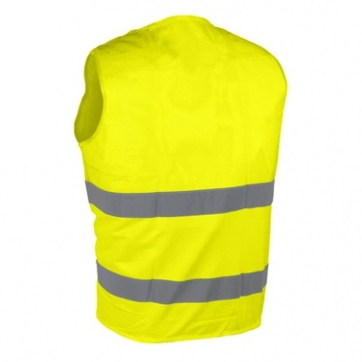 Colete de alta visibilidade em rede amarelo/laranja