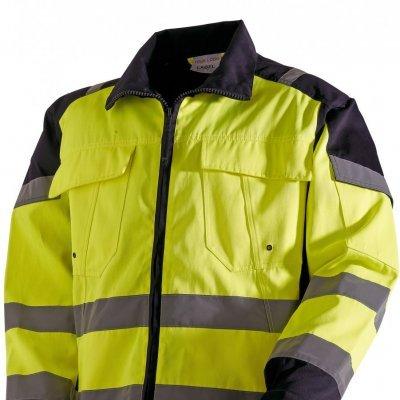 Casaco de Trabalho de Alta Visibilidade - Amarelo / Laranja  VITA / VITO