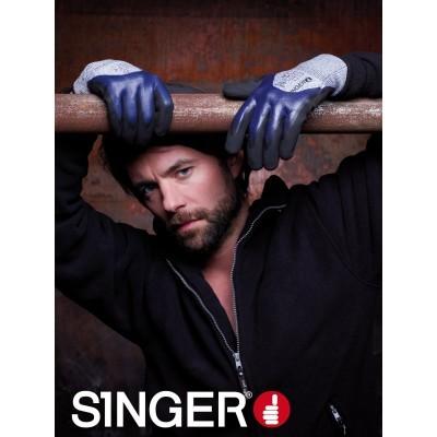 Luva HDPE GRIPCUT Singer