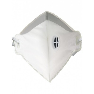 Meia máscara com uma válvula. FFP3 NR . AUUMP33V  Singer