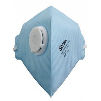 Meia máscara com uma válvula. FFP2 NR. AUUMP32V Singer
