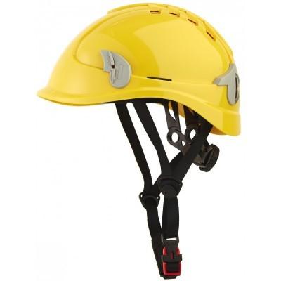 Capacete ventilado com suporte para o farol ALPIN  Singer