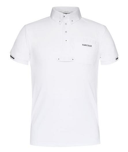 Camisa de competição  Crystallo para rapaz, Harcour