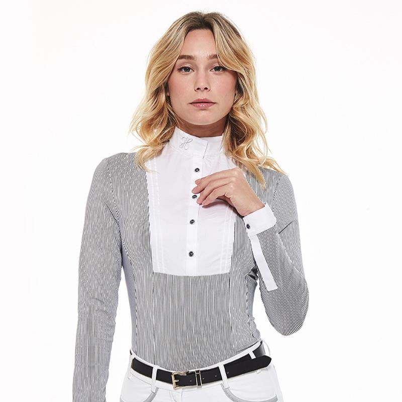 Camisa de concurso Annie com mangas, Harcour