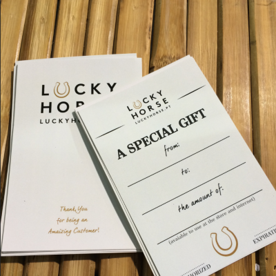 Special Gift Card - Lucky Horse