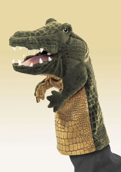 Crocodilo Palco de Fantoches