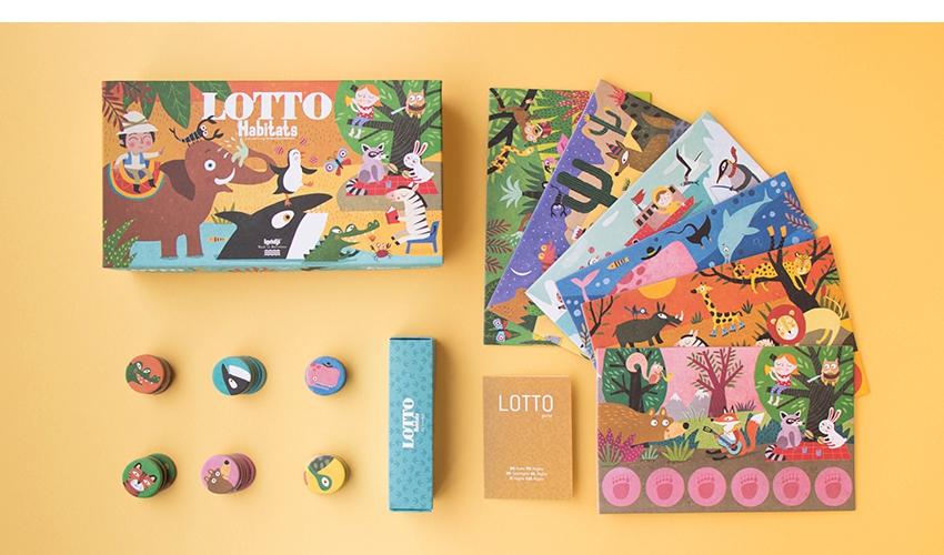 Jogo Habitat Lotto