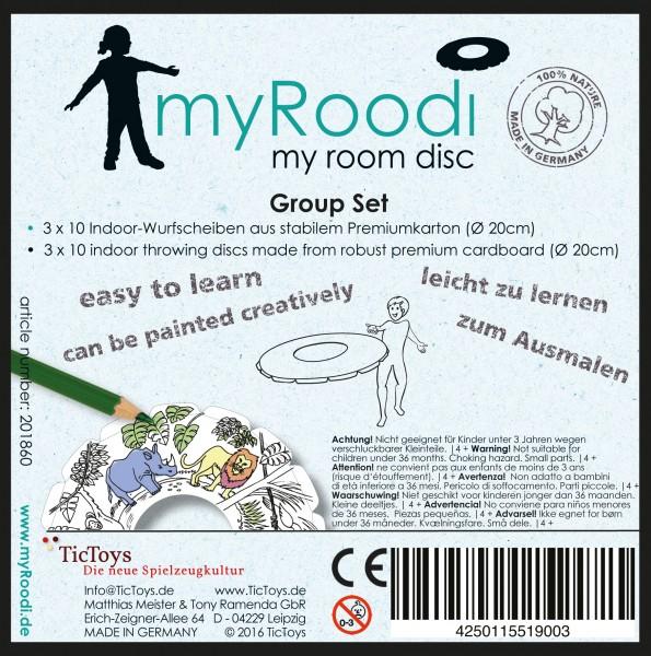 Disco My Roodi Set Grupo