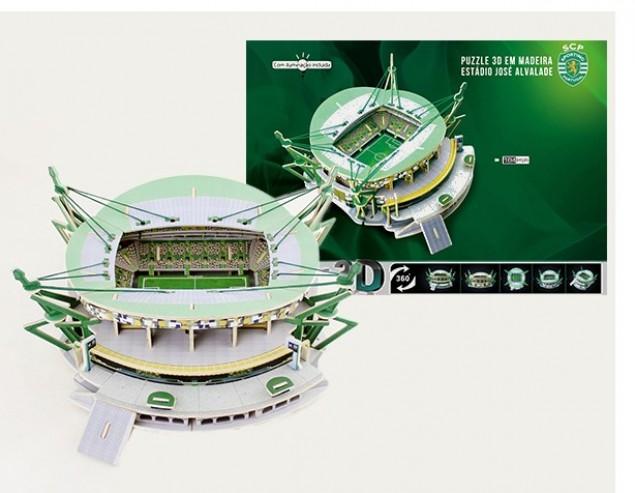 Estádio do Sporting - Puzzle 3D