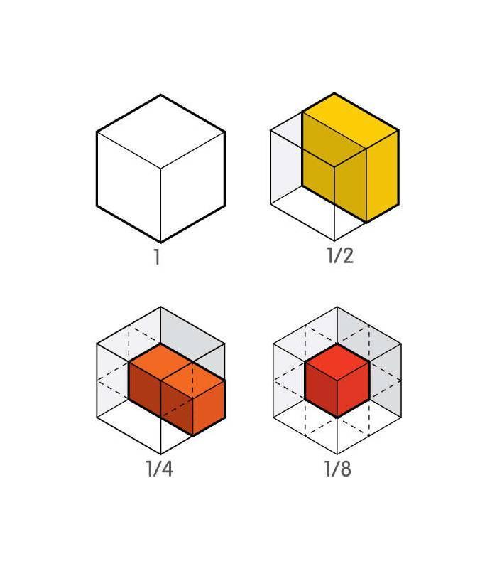 Cubo - Frações Plan Toys
