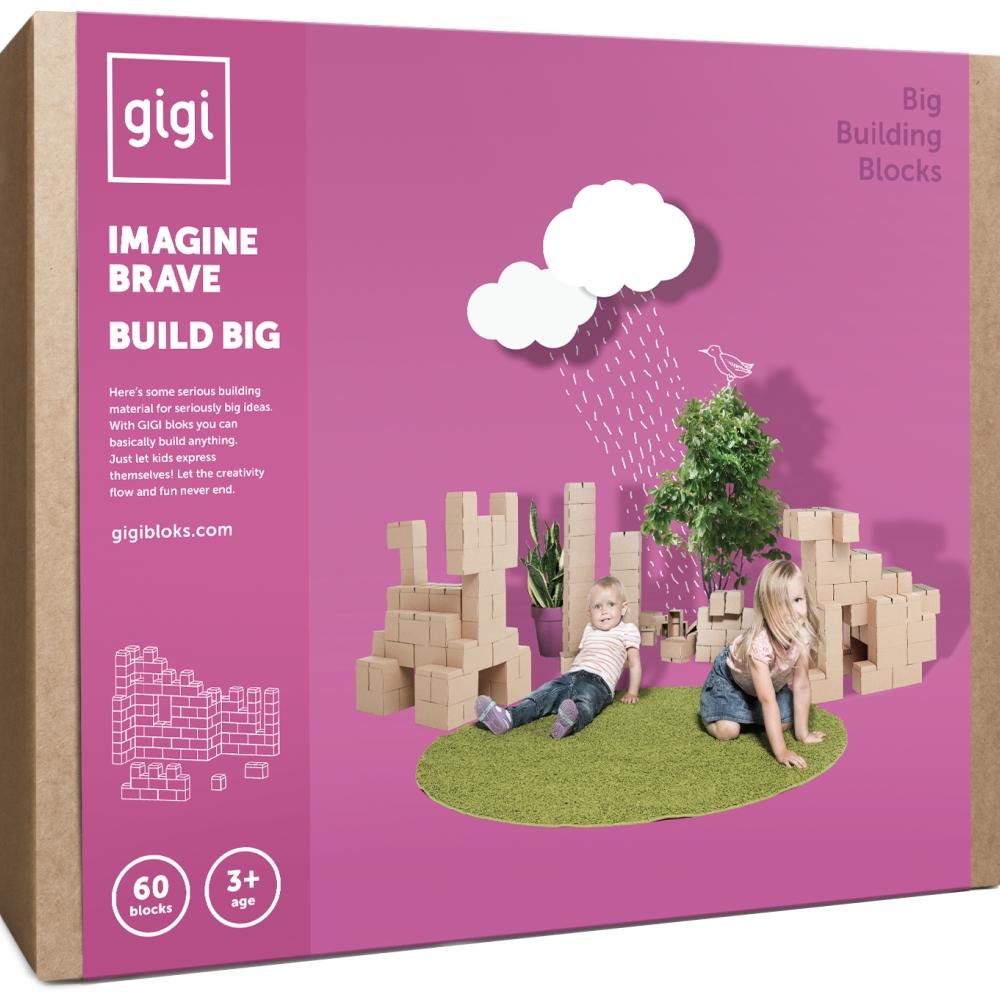 Blocos Gigi 60 peças -  Cartão