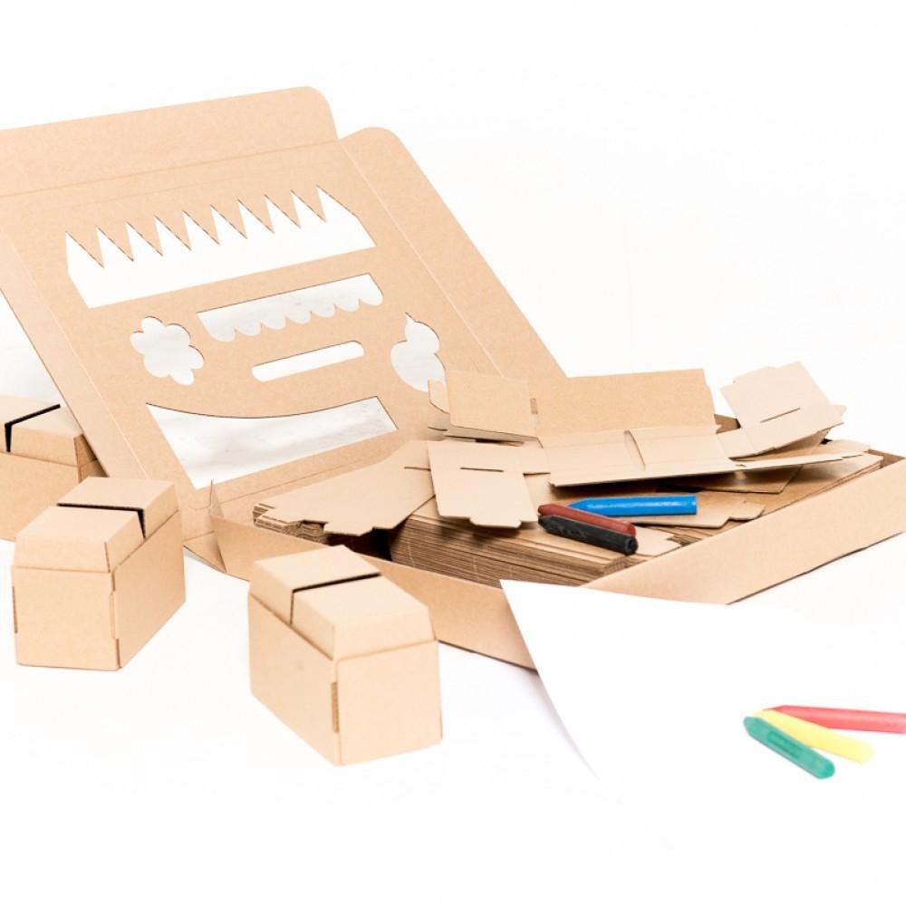 Blocos Gigi 30 Peças Construir e decorar -  Cartão