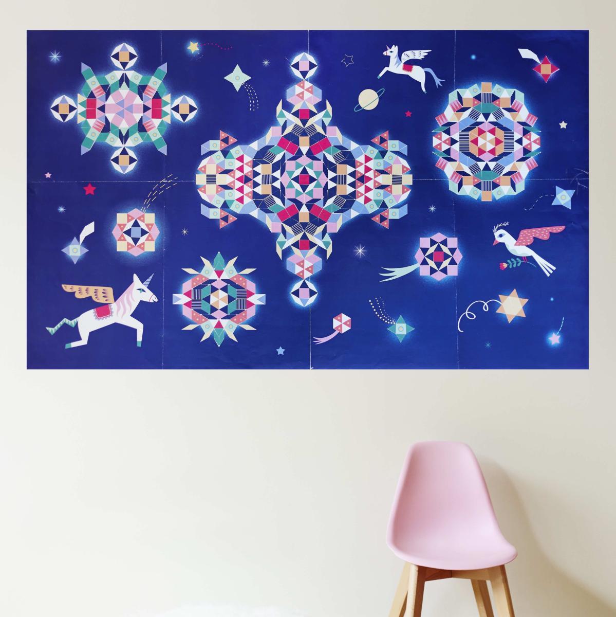 Poster gigante -  Constelação