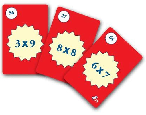 Tabuada da multiplicação - Jogos Matemáticos
