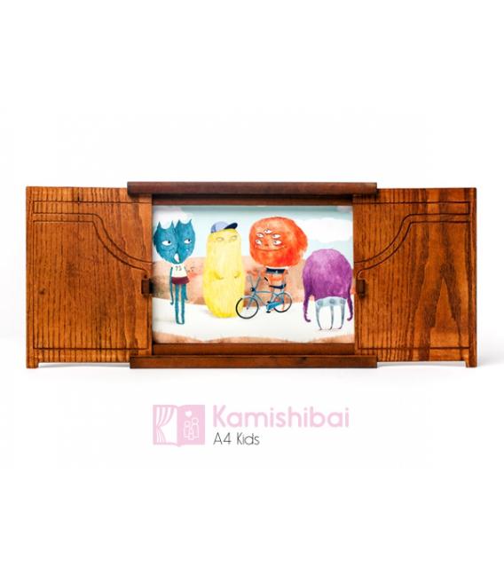 Teatro Kamishibai A4