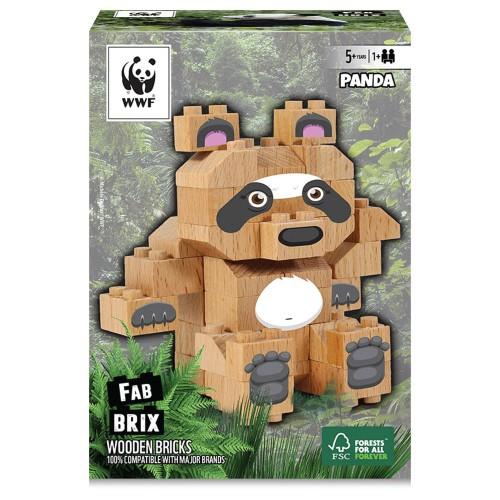 Fab Brix - Panda 39 Peças