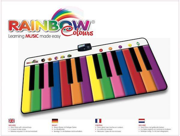 Piano Gigante RAINBOW COLORS