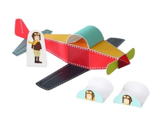 Avião - Brinquedo de Papel