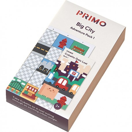 CUBETTO Pack - Big City Adventure
