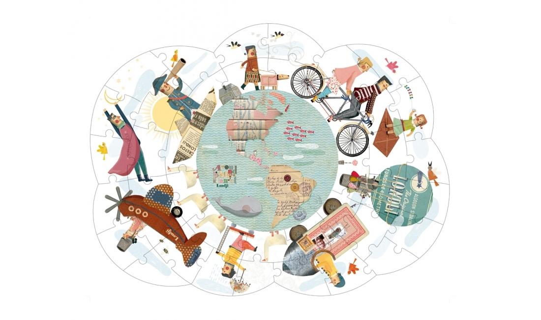 Puzzle Volta ao Mundo