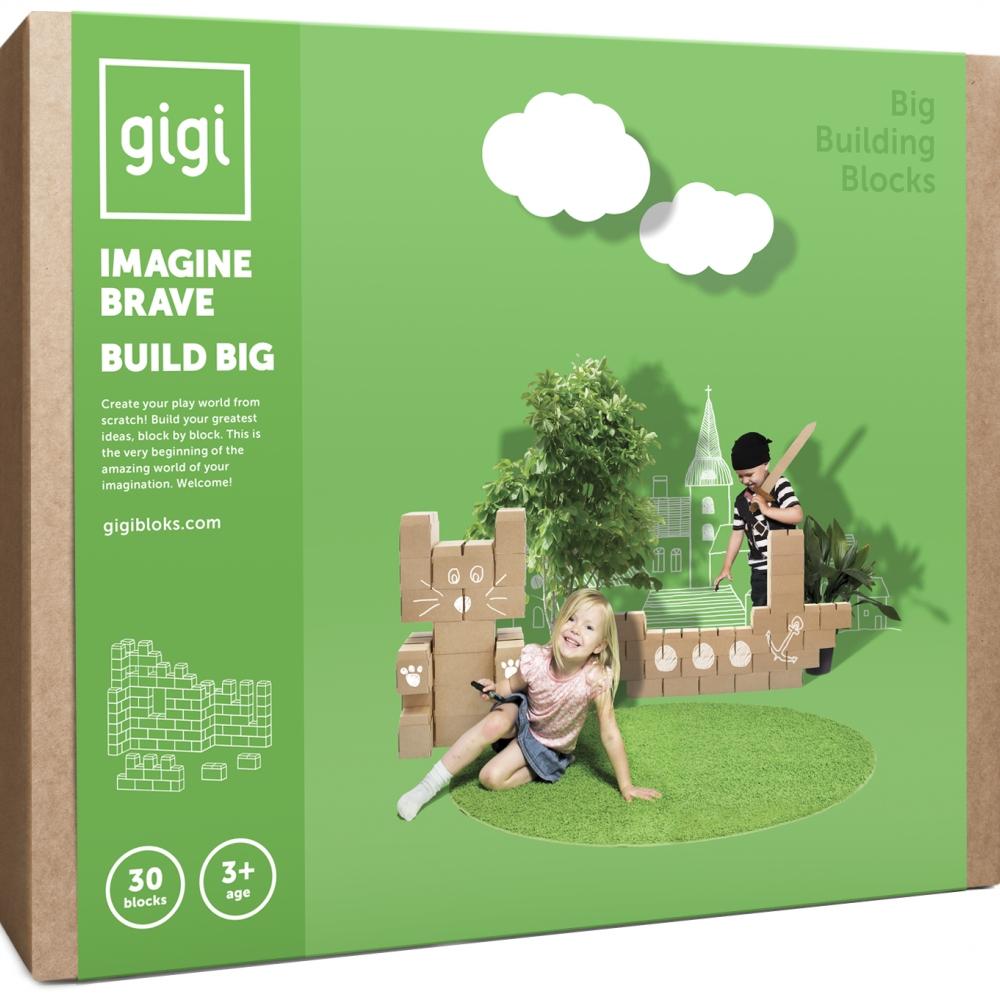 Blocos Gigi 30 Peças- Cartão