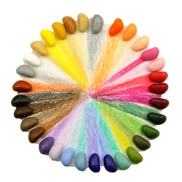 Crayon Rocks, lápis de soja ecológicos!