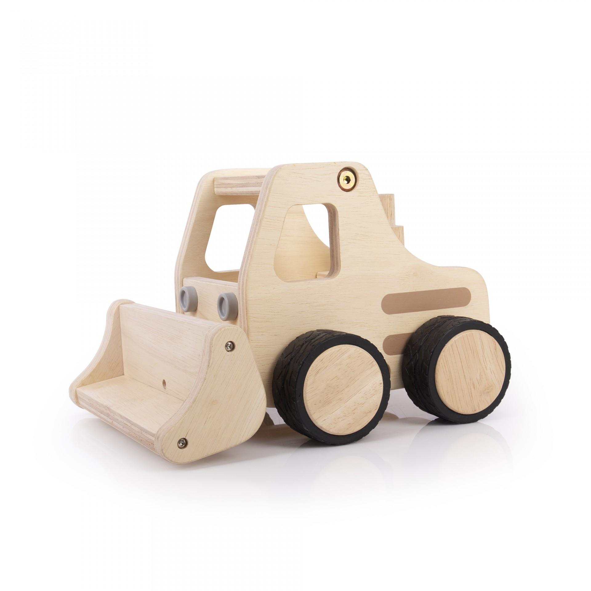 Tractor de Madeira