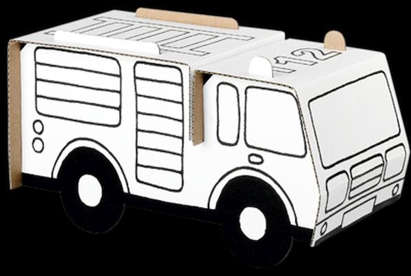 EasyFun Camião de Bombeiros - Cartão