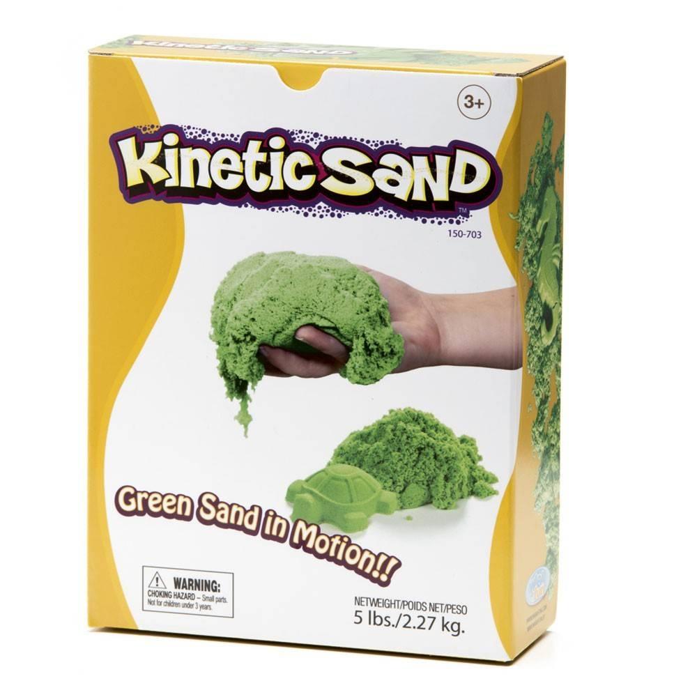 Green Kinetic Sand
