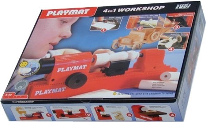 Kit Oficina Madeira PlayMat