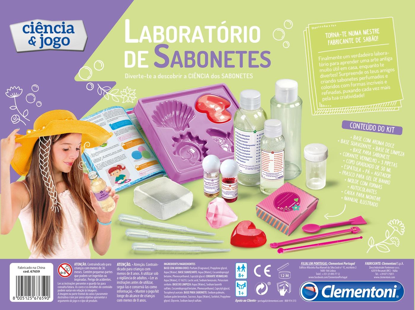 Laboratório de Sabonetes