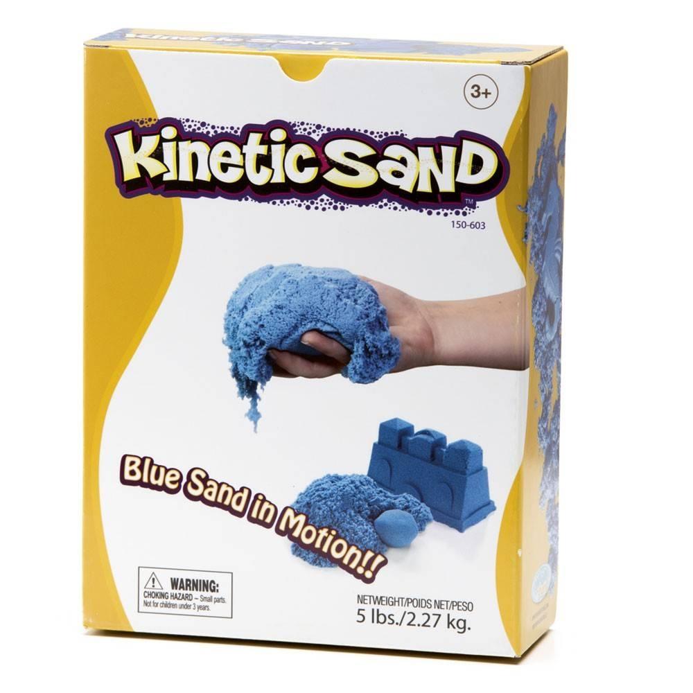 Areia Cinética Azul