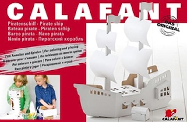 Barco Pirata nível 3 - Cartão