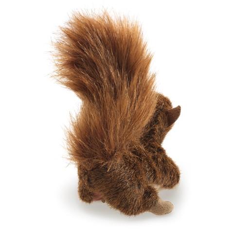 Mini esquilo vermelho